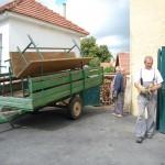 016d odvoz stolů a lavic