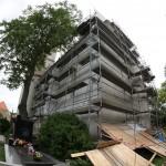 Oprava kostela 2013