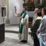 Svěcení kazatelny a křížku 23.8.2014